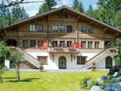 居外网在售瑞士Gstaad的房产总占地3287平方米EUR 14,975,000