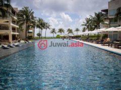 居外网在售墨西哥卡门海滩2卧2卫的房产总占地130平方米USD 610,000