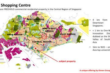 新加坡总占地254平方米的商业地产