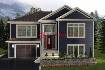 加拿大3卧2卫新房的房产