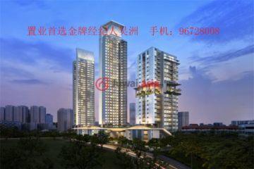 居外网在售新加坡1卧1卫新房的房产总占地10991平方米SGD 1,196,500