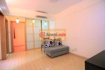 居外网在售中国澳门2卧1卫曾经整修过的房产总占地62平方米HKD 5,300,000