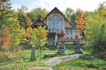 加拿大房产房价_魁北克房产房价_Val-des-Monts房产房价_居外网在售加拿大Val-des-Monts4卧3卫特别设计建筑的房产总占地18195平方米CAD 1,150,000