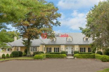 居外网在售美国4卧5卫最近整修过的房产总占地337801平方米USD 4,985,000