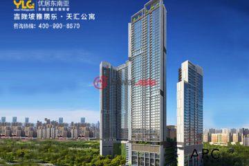 马来西亚房产房价_吉隆坡房产房价_居外网在售马来西亚吉隆坡1卧1卫新房的房产总占地58平方米MYR 1,000,000