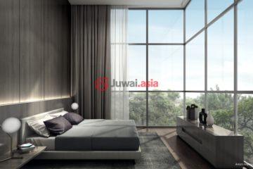居外网在售新加坡2卧新开发的房产总占地74平方米SGD 980,000