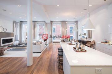 美国房产房价_纽约州房产房价_曼哈顿房产房价_居外网在售美国曼哈顿2卧3卫最近整修过的房产总占地257平方米USD 6,850,000