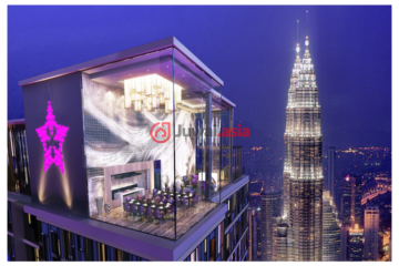 马来西亚吉隆坡1卧1卫的房产