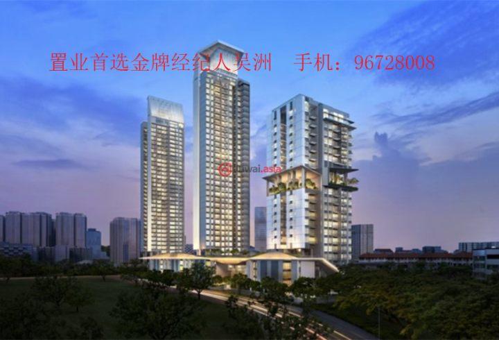 新加坡中星加坡新加坡的房产,中巴鲁地铁公寓,好位置,编号32255844