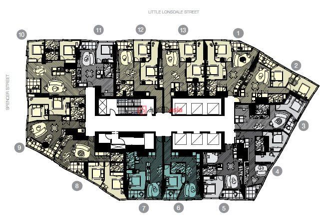 项目配套高级会所,设施除了泳池,健身房,spa,桑拿,电影院等豪华