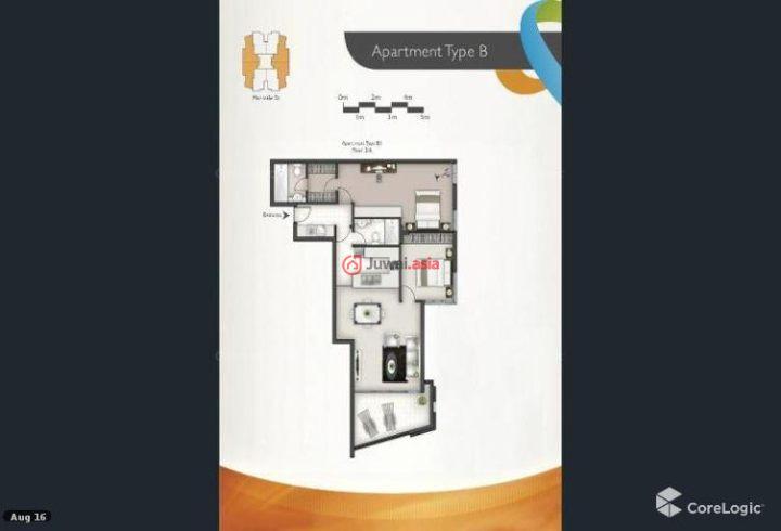 澳大利亚昆士兰布里斯班的房产,Merivale,编号35449860
