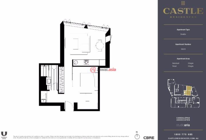 澳大利亚新南威尔士州悉尼的新建房产,203 Castlereagh Street,编号34060640