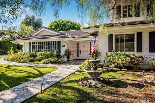 美国加州罗灵丘陵庄园5卧5卫的房产